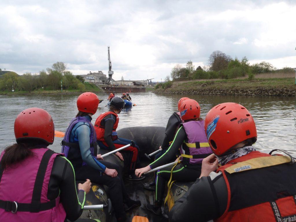 Erlebnispädagogik Neuwied - Rafting
